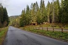 Ostatni biwak przed granicą ze Słowacją.... Miejscowość Glinka... W kierunku ...