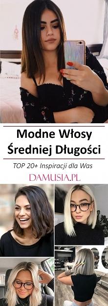 Modne Włosy Średniej Długości – TOP 20+ Inspiracji dla Was