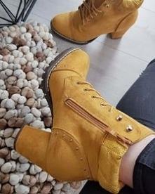 Musztardowe botki od Pantof...