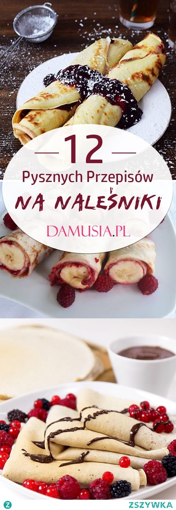 TOP 12 Przepisów na Domowe Naleśniki – Idealny Pomysł na Obiad w Słodkim Wydaniu