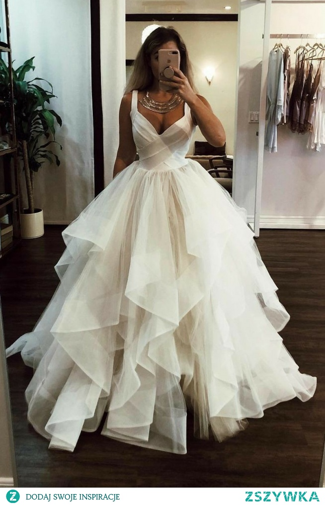 sexy ball gown wedding dress