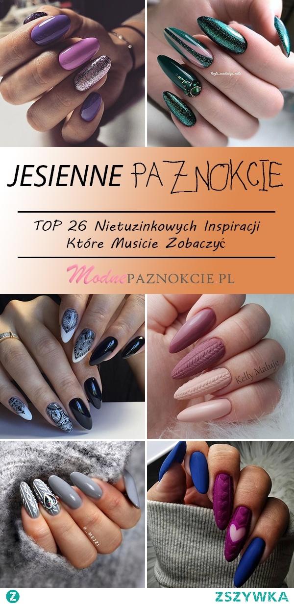 TOP 26 Nietuzinkowych Inspiracji na Jesienne Paznokcie – Musicie Je Zobaczyć!