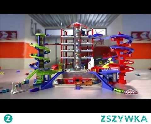 Olbrzymi Garaż Super City Majorette - 7 poziomów - w zabawkitotu.pl