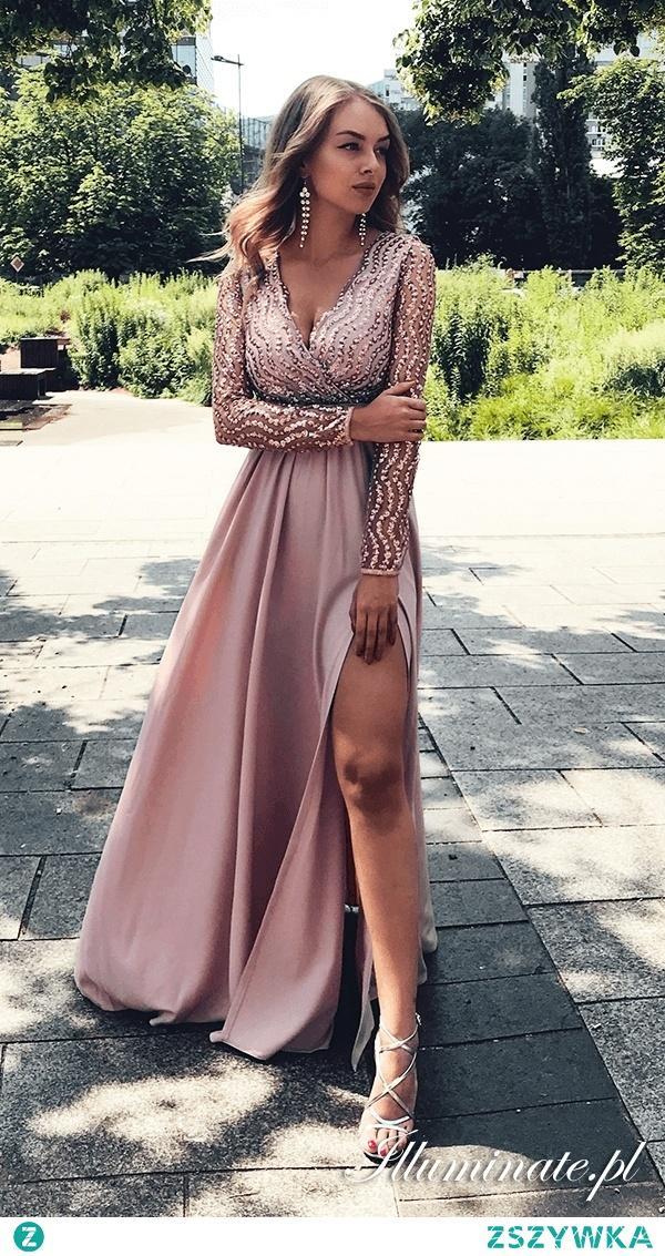 Cekinowa sukienka na studniówkę z kolekcji illuminate.pl <3