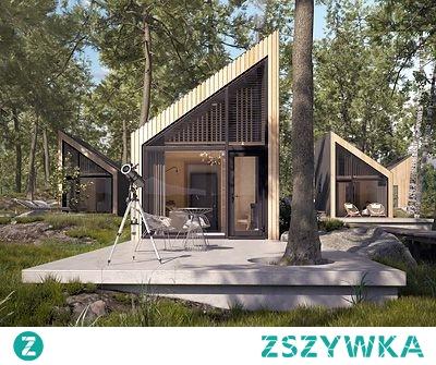 """""""Szyszka"""" - projekt domu"""