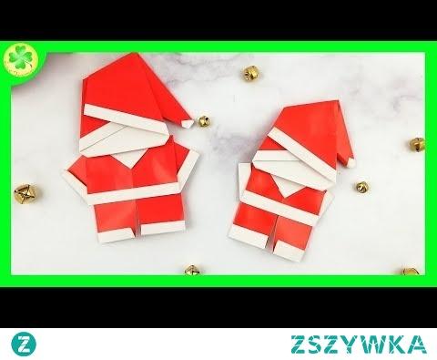 Jak zrobić: Święty Mikołaj Origami (DIY)