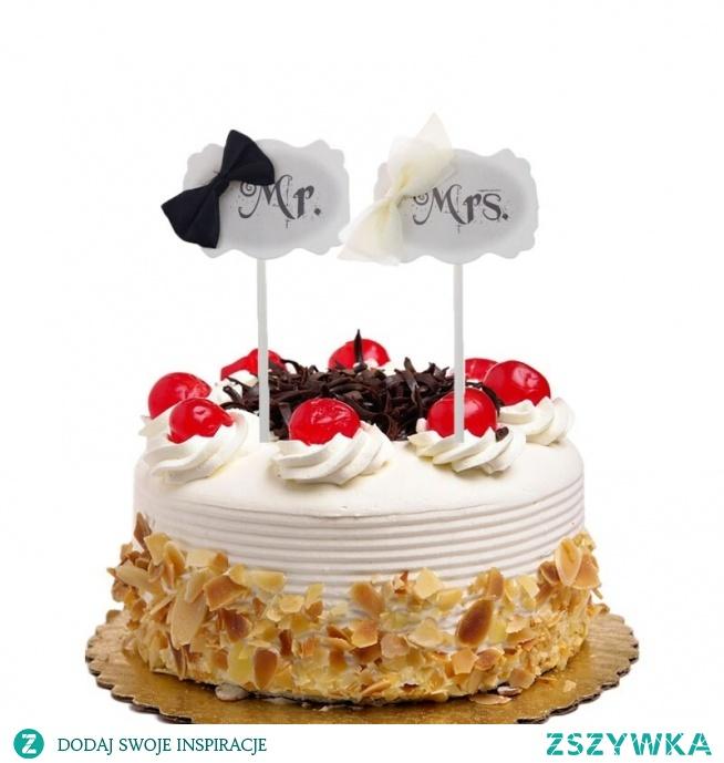 Ciasto flagi Cupcake ciasto Topper pan pani wykaszarki miłość panna młoda dzieci urodziny ślub dla nowożeńców ciasto opakowanie Party pieczenia Decor DIY flagi w Ozdoby do dekorowania tortu od Dom i ogród na AliExpress