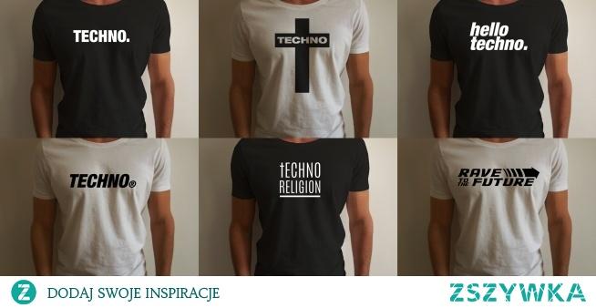 Techno T-shirty
