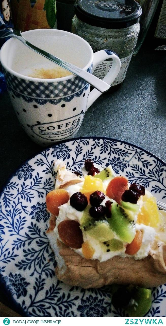 #food #deser #kawa #owoce #pycha