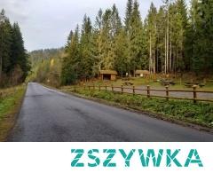 Ostatni biwak przed granicą ze Słowacją.... Miejscowość Glinka... W kierunku na Krawców Wierch.