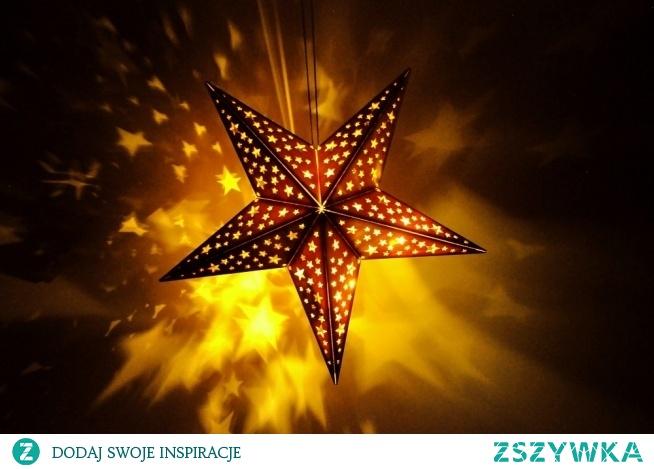 Drewniana gwiazda LED - sklep 4fundesign.com