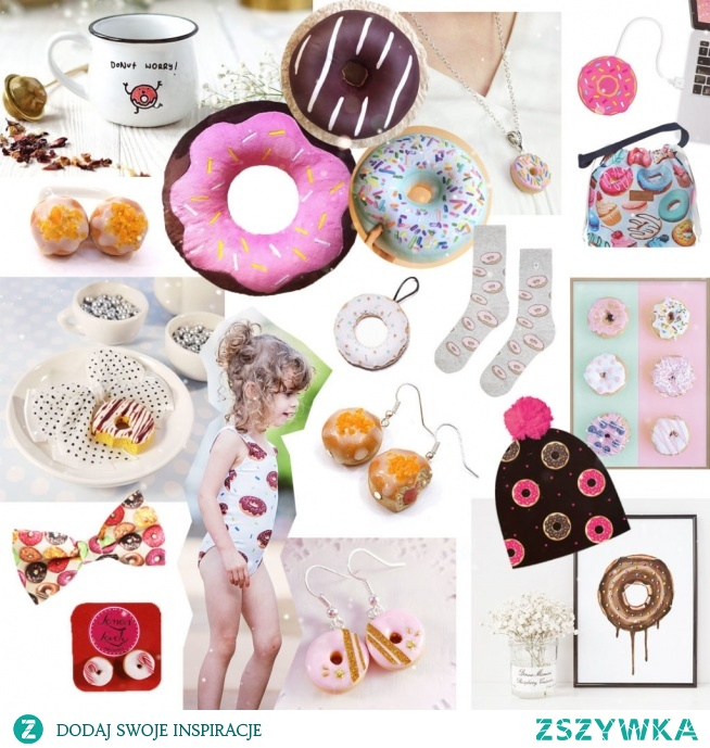 Pomysły na prezenty dla fanów pączków i donutów <3 więcej po kliknięciu w zdjęcie