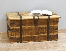 Piękny kufer kolonialny, z ...