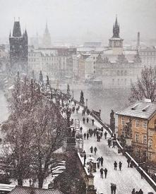 Praga,Czechy ❄⛄