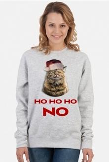 Kot, Grumpy cat, choinka. Prezent na święta,bluza na mikołajki. Zimowy, na zimę. Dla żony, córki, dziewczyny, narzeczonej, męża, chłopaka, narzeczonego, mamy, taty, kolegi, kole...