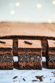 Czekoladowo-makowe Ciasto E...