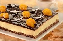 Ciasto kokosowo - czekoladowe ♡