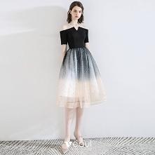 Moda Czarne Homecoming Suki...