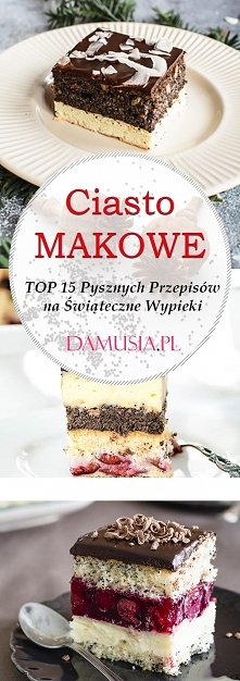 Ciasto z Makiem – TOP 15 Py...