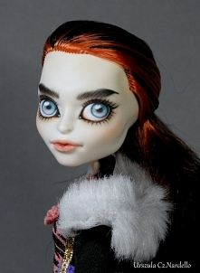 Skelita Calaveras Monster high OOAK doll