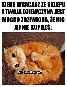 nic słodkiego?
