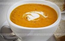 Zupa krem z cukinii z pomid...