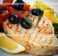 Grillowany tuńczyk