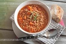 Pikantna zupa z mielonej wo...