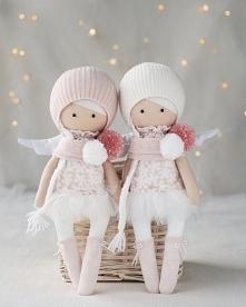 Aniołki- prezent, pamiątka z okazji chrztu