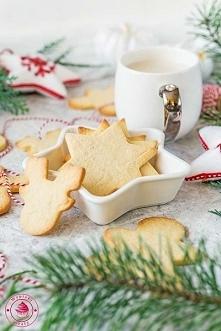 Kruche ciasteczka świąteczn...