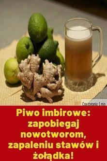 Piwo imbirowe: zapobiegaj n...