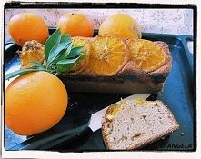Ciasto pomarańczowe z cynam...