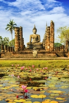 Miasto w Tajlandii - Sukhot...