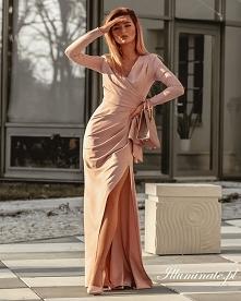Długa wieczorowa sukienka n...