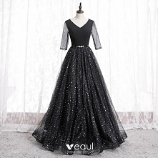 Moda Czarne Sukienki Na Bal...