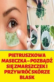 Pietruszkowa maseczka – poz...