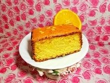 Sycylijskie  ciasto   pomarańczowe . CIASTO: 250g masła, 250g mąki pszennej, 2 łyżeczki proszku do pieczenia, 250g cukru, 1 i ½ łyżeczki startej skórki z pomarańczy, 4 jajka, Sz...