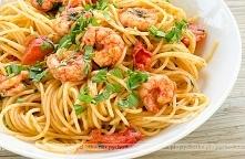 Spaghetti z papryką i krewe...