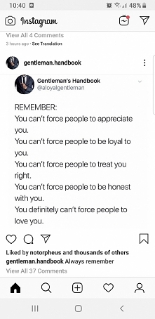 Can't force people