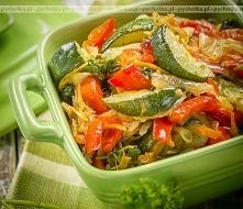 Warzywa krojone gotowane