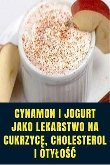 Cynamon i jogurt jako lekar...