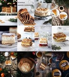 Zbiór blisko 50 ciast na Boże Narodzenie