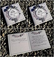 """Możliwość zamówienia przez fb:  Anita Ryba - Zaproszenia Ślubne i Kartki Okolicznościowe """"Papierowe"""""""