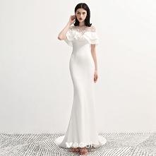 Moda Białe Szyfon Przezrocz...