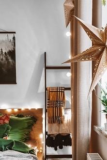 Świąteczna dekoracja sypial...
