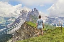 Pasmo górskie we Włoszech, ...