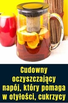 Cudowny oczyszczający napój, który pomaga w otyłości, cukrzycy