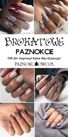 Najlepsze Inspiracje na Brokatowe Paznokcie – TOP 20+ Inspiracji Które Was Oczarują!
