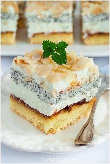 Ciasto tortowe z makiem