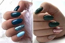 Sprawdźcie najnowsze inspiracje na paznokcie z brokatem które sprawdzą się zarówno jesienią jak i zimą! ✨